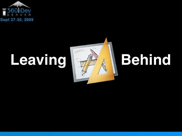 Leaving   Behind