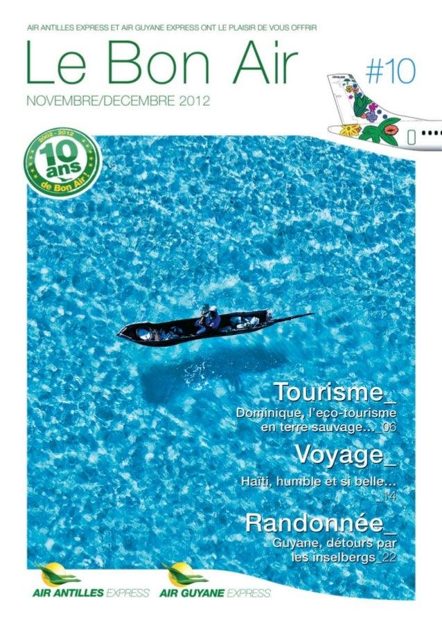 Le Bon Air Antilles & Guyane n°10 Novembre-Decembre 2012