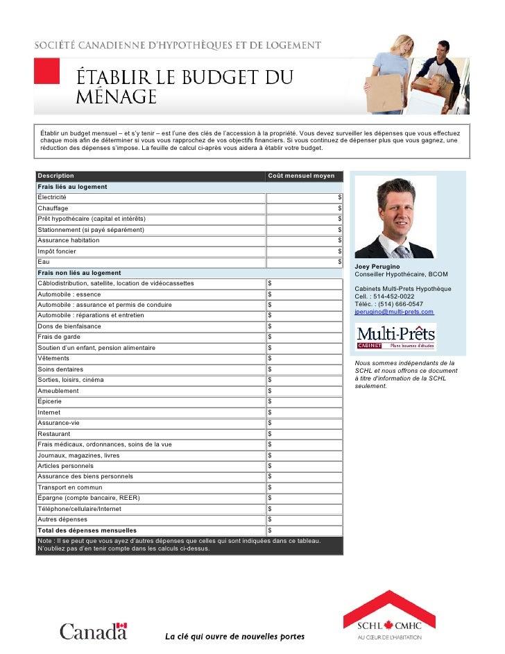 Établir un budget mensuel – et s'y tenir – est l'une des clés de l'accession à la propriété. Vous devez surveiller les dép...