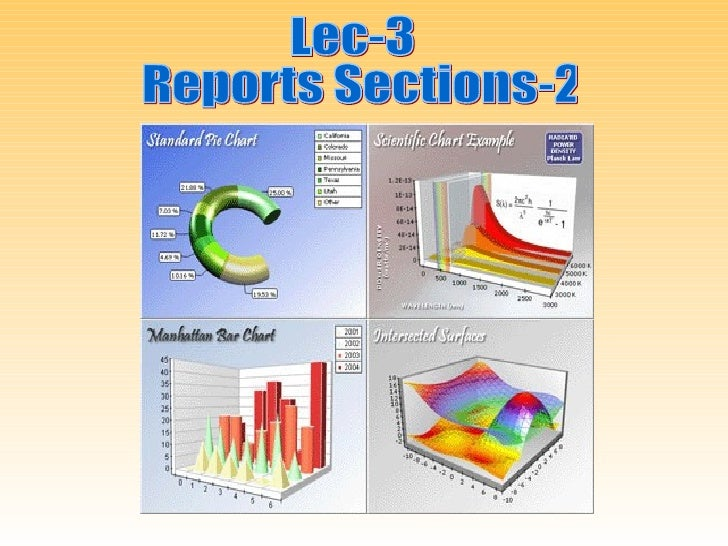 Numbering Report Sections• Expect feedback on your report - this could come in  writing or verbally• Make it easy for the ...