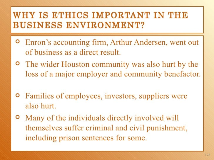 why ethics are important to auditors We also held a blog competition about why ethics is important to business the winner was guvan singh riar, 16 years old  why is ethics important to business.