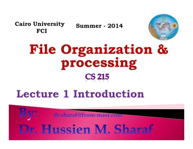CS215 Lec 1   introduction