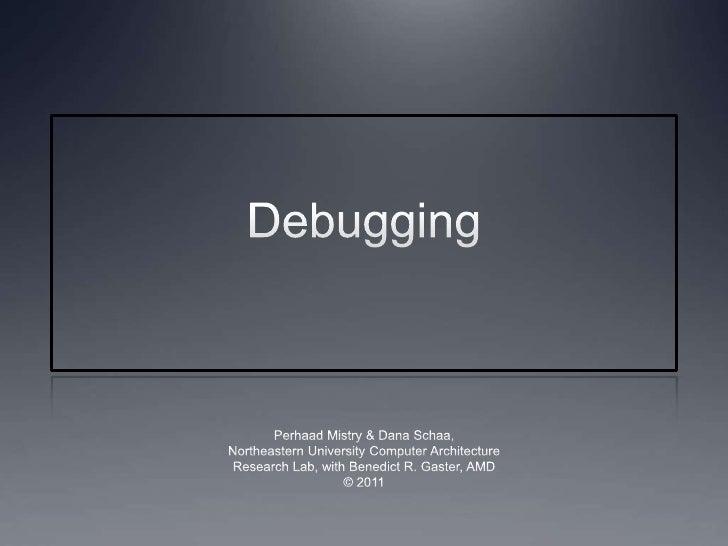 Lec12 debugging