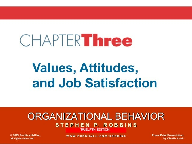 attitude and job satisfaction article Organizational citizenship behavior (ocb) has received a great deal of attention  among researchers recently given the practical importance and its implication.