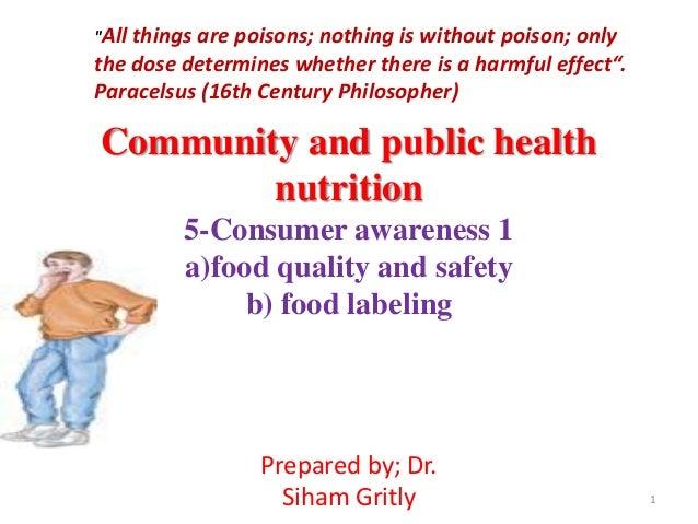 Lec 5 consumer nutrition 1