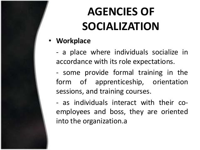 I am writing a paper on Socialization in the workplace. what is workplace socialization?