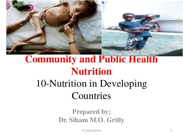 Diet quality, child health and food policies in developing countries
