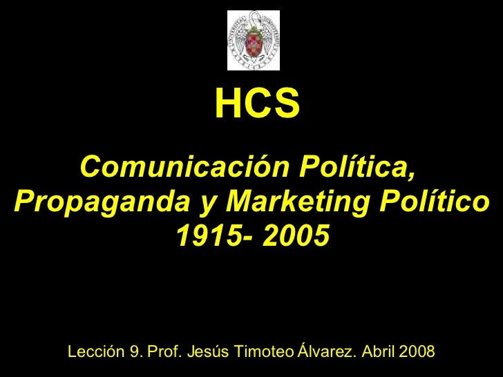 Lecc 9 Com Polit Y Propaganda