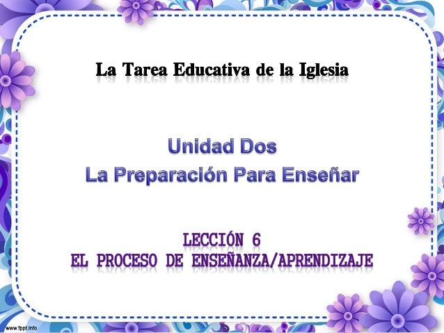 08/09/2014 La Tarea Educativa de la Iglesia 2