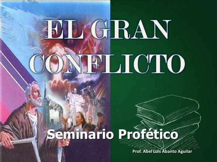 LeccióN 6 El Gran Conflicto