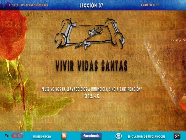 LECCIÓN 07                                                                Sábado de tardeLOS TRES PRIMEROS CAPÍTULOS de 1 ...