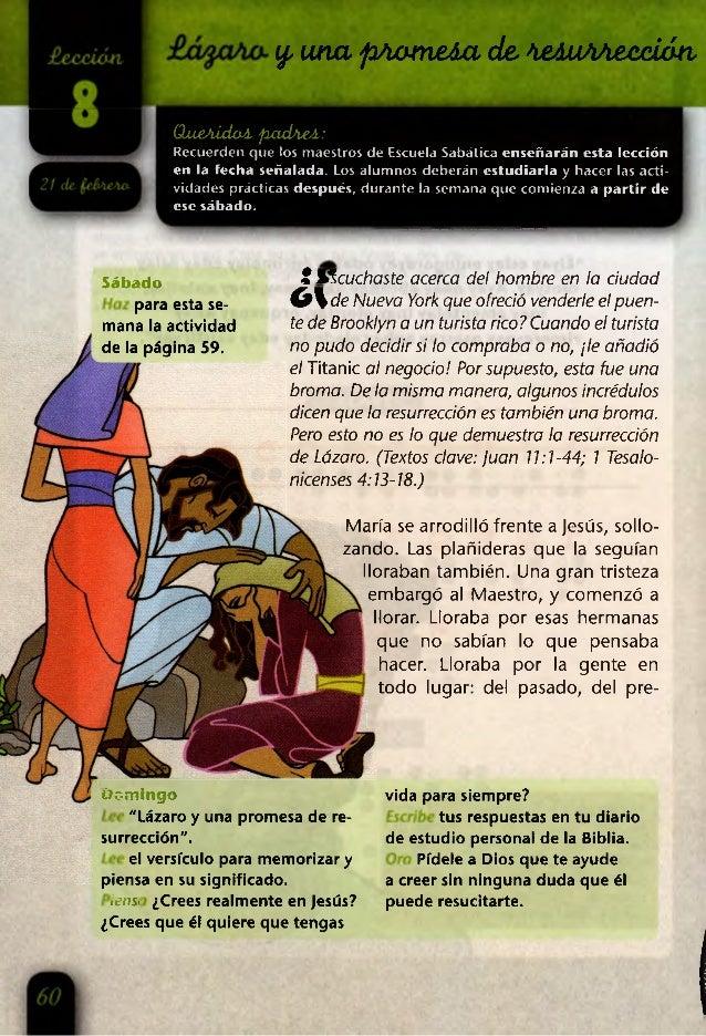 y, una p/iameAa de,teAiito£xx¿áti OueAÍdoA, pyadAeA: Recuerden que los maestros de Escuela Sabática enseñarán esta lección...