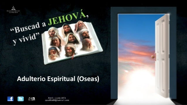 Leccion 01 II_2013 Adulterio espiritual
