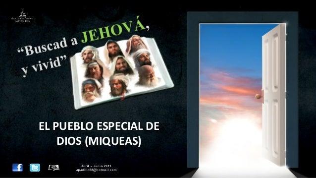 Leccion 07 II_2013 el pueblo especial de Dios