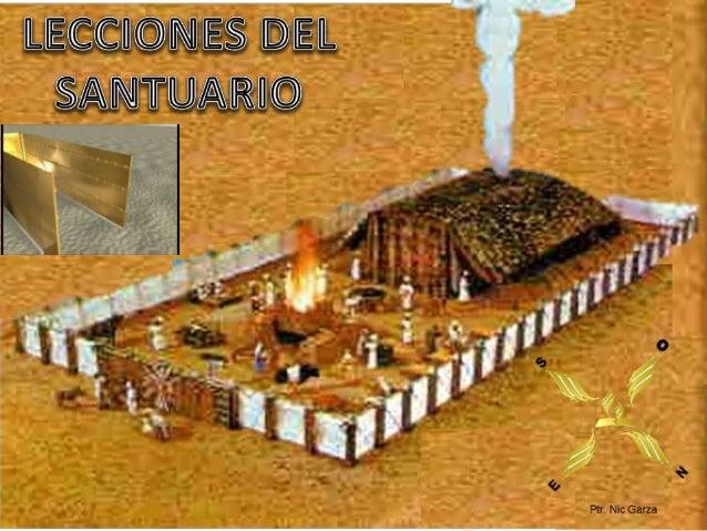 Esta semana vamos a estudiar diversas lecciones extraídas del Santuario. 1. Lecciones de su mobiliario. 2. Lecciones de su...
