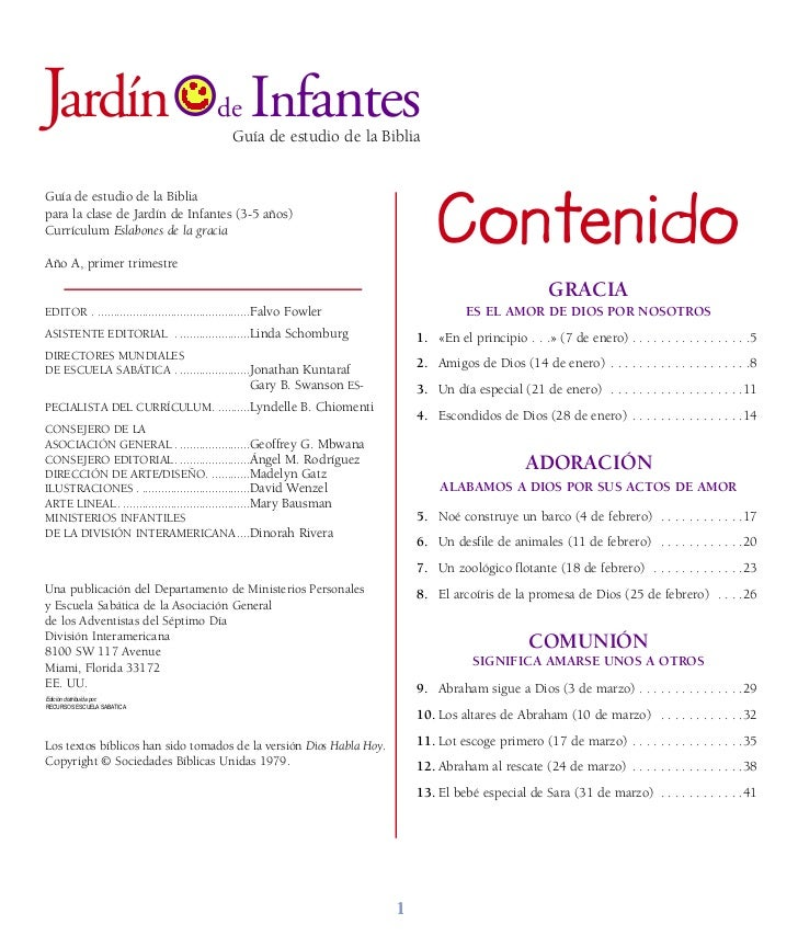 Leccion infantes for Leccion jardin infantes 2016
