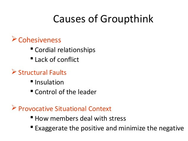 """the paradox of unanimous decisions to avoid conflict Any group decision reached as an """"end"""" is at best temporary, a beginning,   the illusion of unanimity is a symptom that fosters self-censorship because  everybody  the abilene paradox: the process by which groups fail to  manage agreement  avoid scapegoating, because focusing on conflict when  agreement is the."""