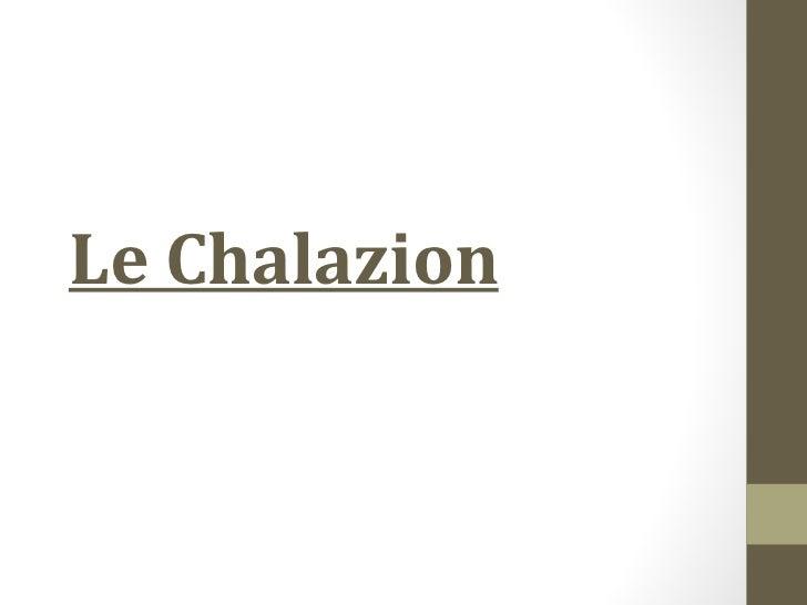 Le Chalazion
