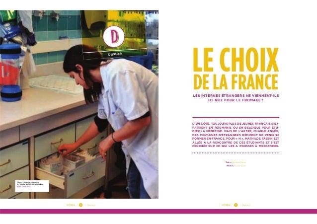 DOSSIER — — Numéro 613DOSSIER — — Numéro 612 DOSSIER Sheryl Mehanna, Libanaise, à l'hôpital de la Pitié Salpêtrière. Paris...