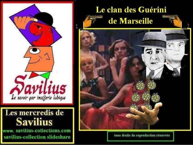 Le clan des Guérini de Marseille