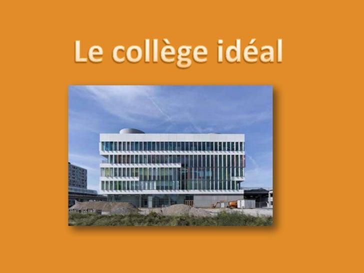 Le collègeidéal<br />