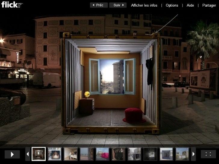 Le conteneur objet d 39 art - Vivre dans un conteneur ...