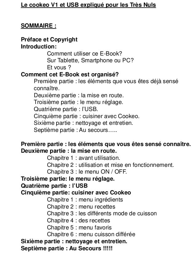 Livre recettes cookeo - Livre de recette pour multicuiseur philips ...