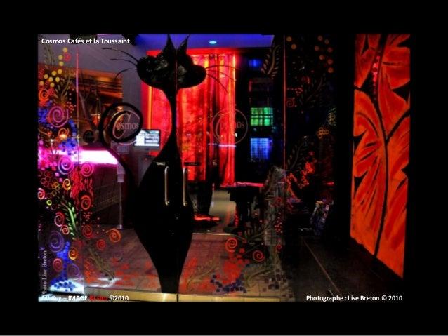 Cosmos Cafés et la Toussaint MJ Roy – IMAGE IN situ ©2010 Photographe : Lise Breton © 2010