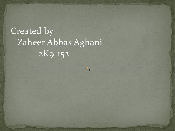 Lect 19 Zaheer Abbas