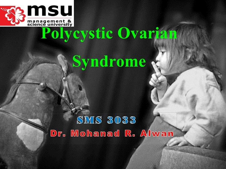 Lect 2-polycystic ovarian syndrome