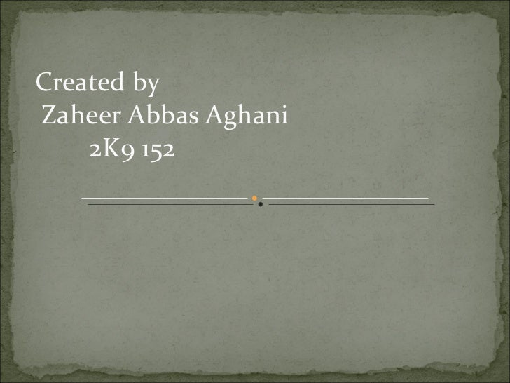 Lect 21 Zaheer Abbas
