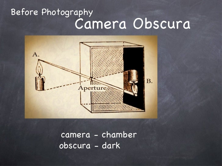 Camera Obscura Before Photography camera - chamber obscura - dark