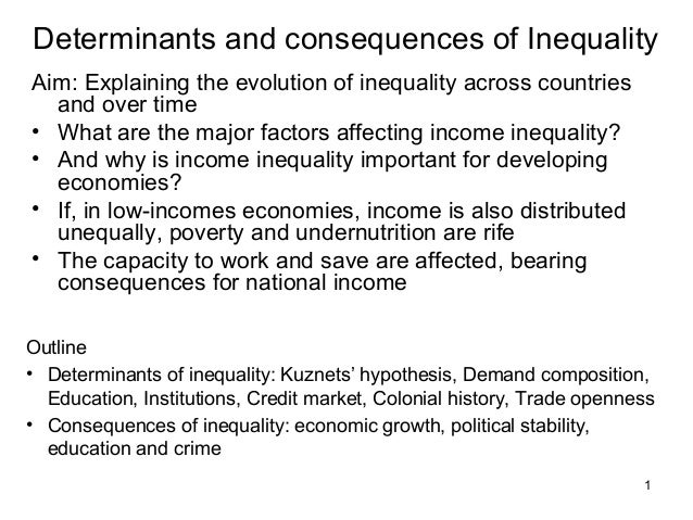 Lect 2 rev - determinants and consequences of inequality copy