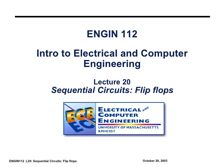 ENGIN 112                  Intro to Electrical and Computer                             Engineering                       ...