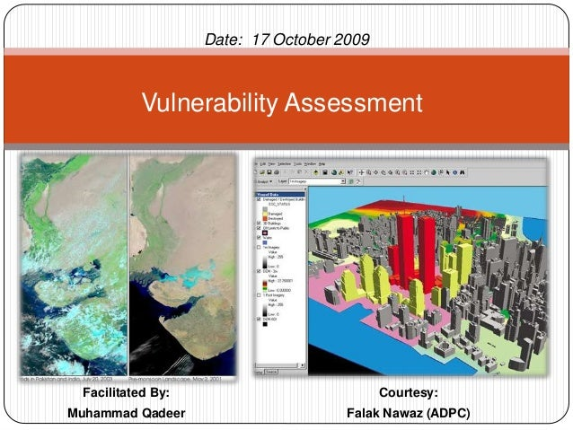 Facilitated By: Muhammad Qadeer Vulnerability Assessment Date: 17 October 2009 Courtesy: Falak Nawaz (ADPC)