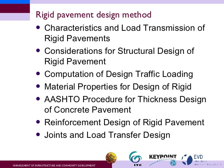 Lect 6 pavement design for Finding subcontracting opportunities