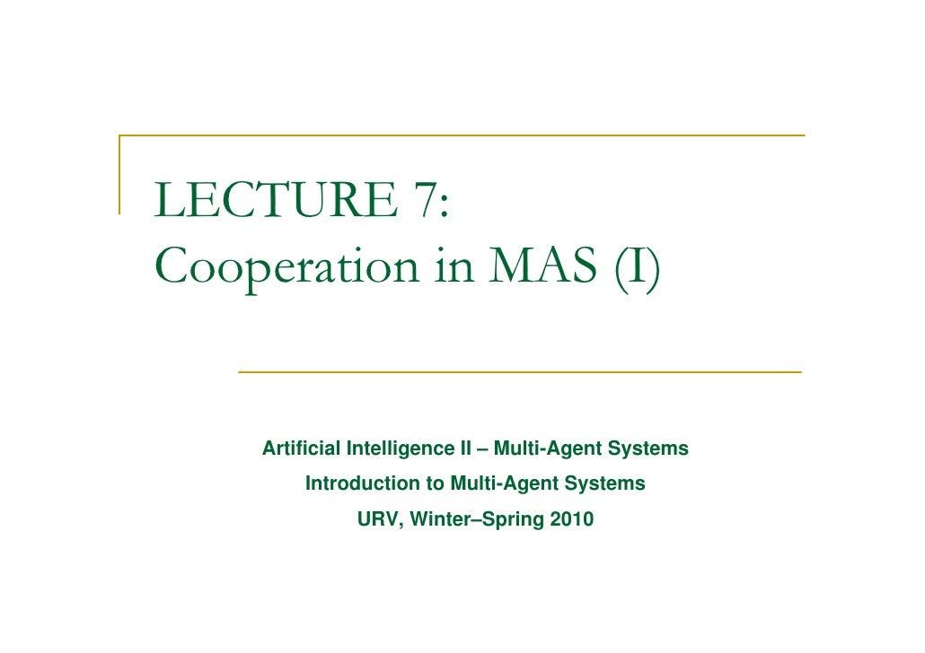 Lect7MAS-Coordination