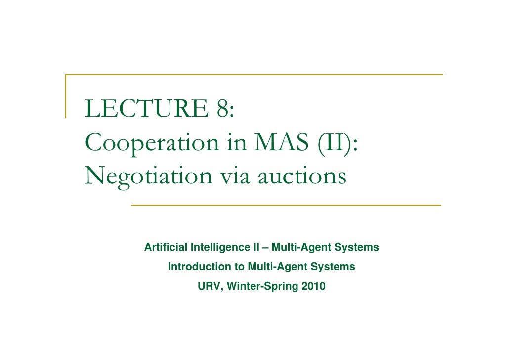 Lect 8-auctions