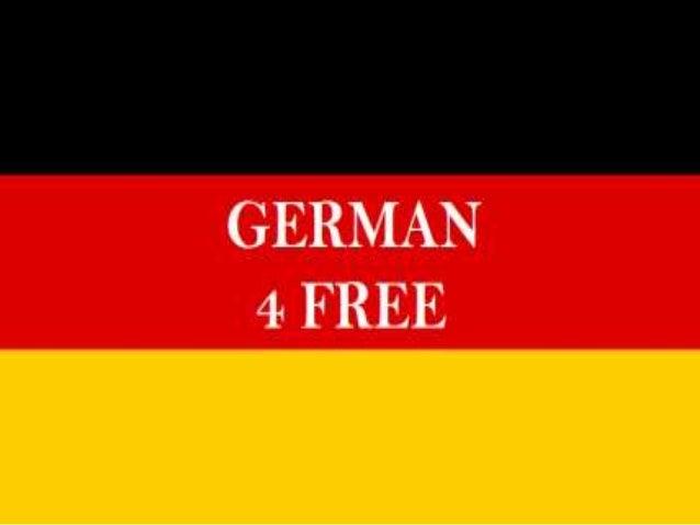 72. Deklination von Nomen GERMAN 4 FREE www.german4free.blogspot.com dem der den