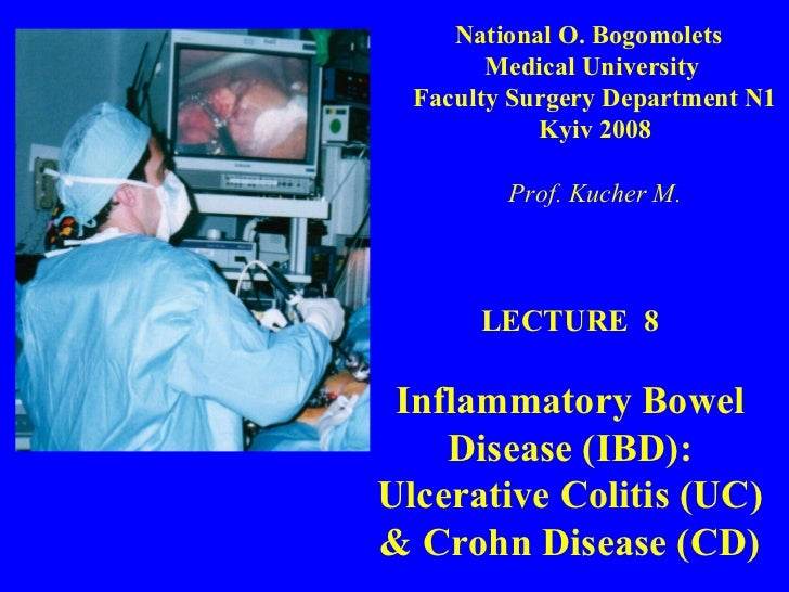 Bohomolets Surgery 4th year Lecture #8
