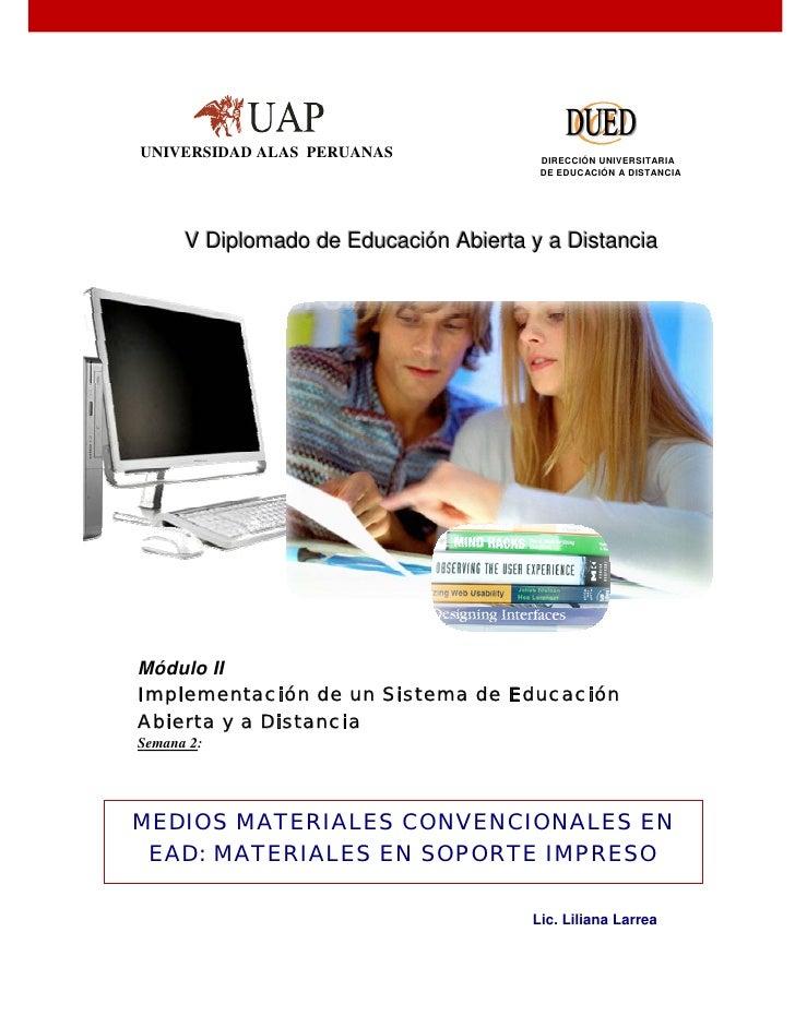 UNIVERSIDAD ALAS PERUANAS                     DIRECCIÓN UNIVERSITARIA                                               DE EDU...