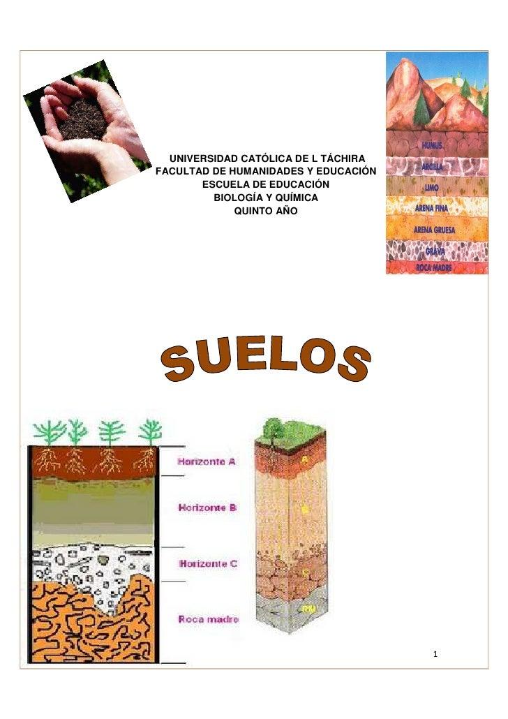 UNIVERSIDAD CATÓLICA DE L TÁCHIRAFACULTAD DE HUMANIDADES Y EDUCACIÓN       ESCUELA DE EDUCACIÓN         BIOLOGÍA Y QUÍMICA...