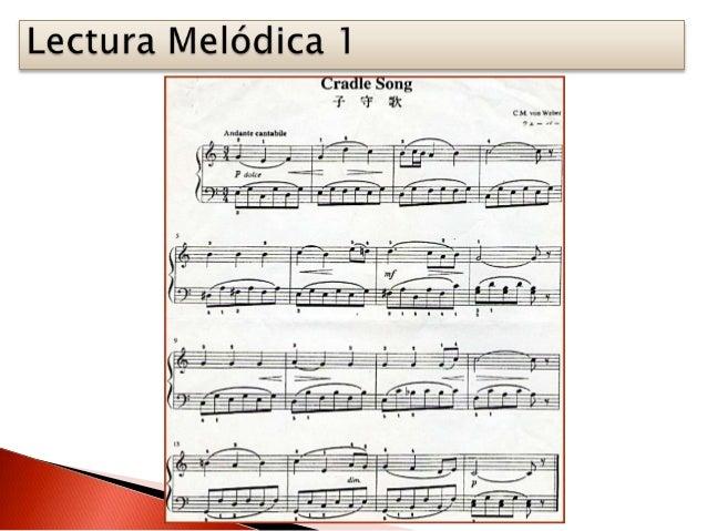 Lecturas melódicas