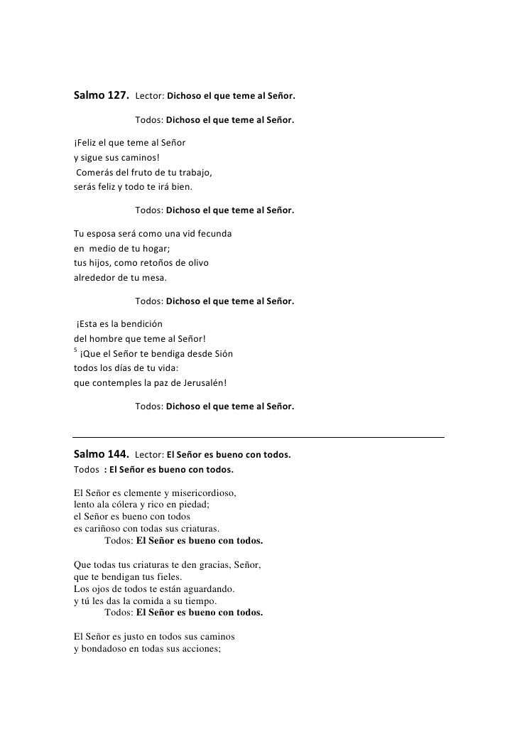 Salmos Del Matrimonio Catolico : Lecturas para la celebración del matrimonio