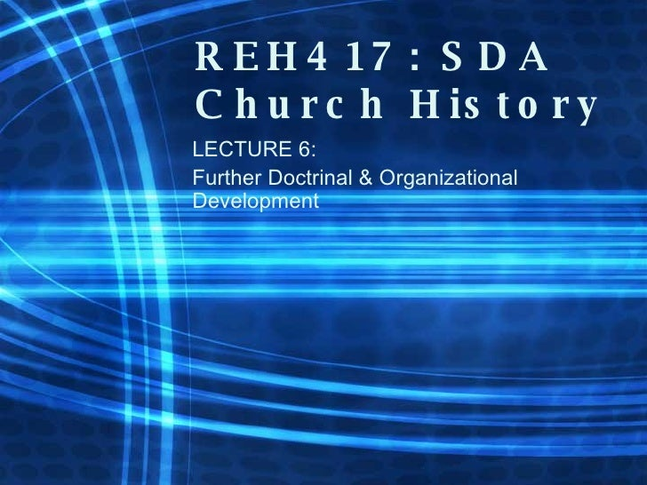Lecture 06: Early SDA Organization