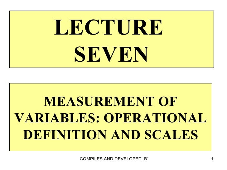 Lecture 07