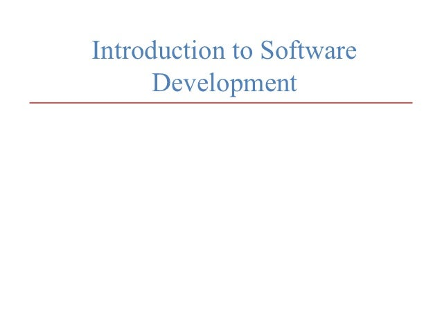 Lecture 1-intro-to-software-development