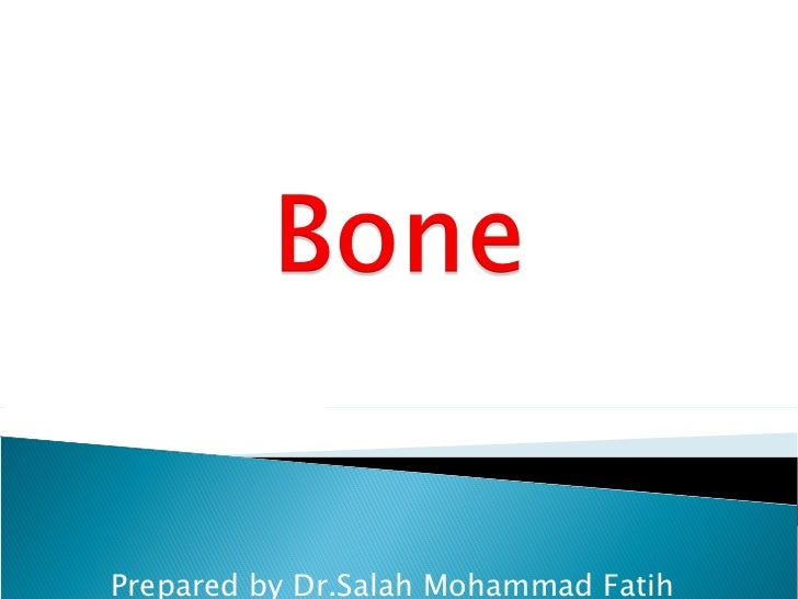 Prepared by Dr.Salah Mohammad Fatih MBChB,DMRD,FIBMS(radiology)