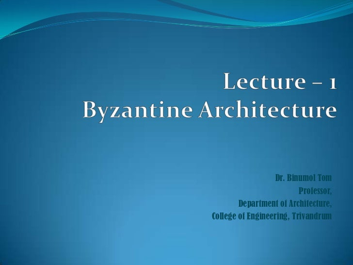 Dr. Binumol Tom                          Professor,        Department of Architecture,College of Engineering, Trivandrum