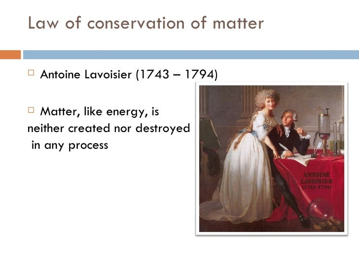 Pics For > Antoine Lavoisier Law Of Conservation Of Mass